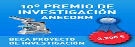 10º PREMIO ANECORM A UN PROYECTO DE INVESTIGACIÓN