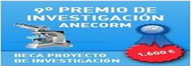 9º PREMIO ANECORM A UN PROYECTO DE INVESTIGACIÓN